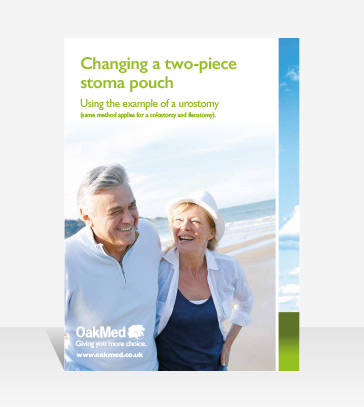 Changing a 2 piece Stoma Pouch